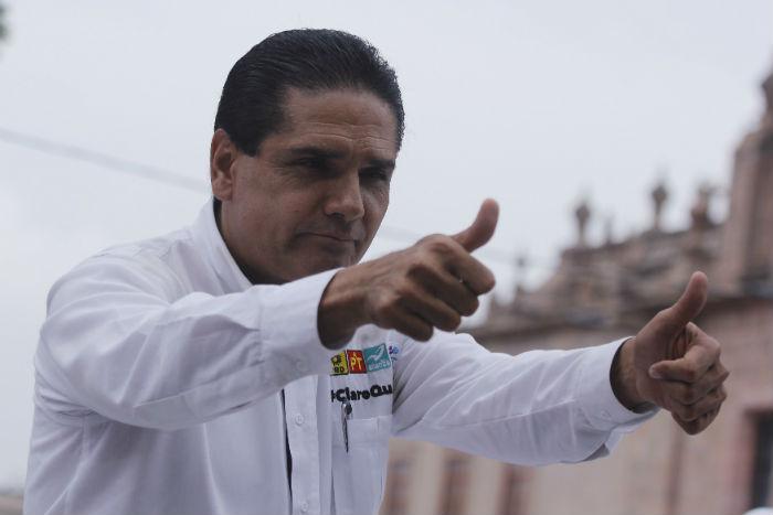 Silvano Aureoles Conejo ganó la contienda a la gubernatura de Michoacán. Foto: Cuartoscuro.