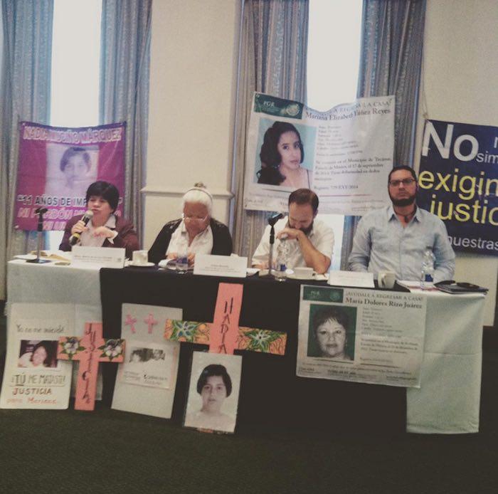 Grupos civiles coincidieron en la tardanza del gobierno federal para emitir la alerta de género. Foto: Católicas por el Derecho a Decidir .