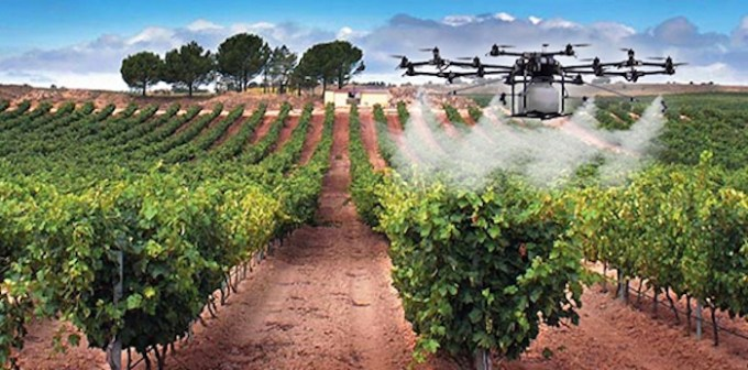 Monitoreo de cultivos. Foto: Drone LabMéxico.