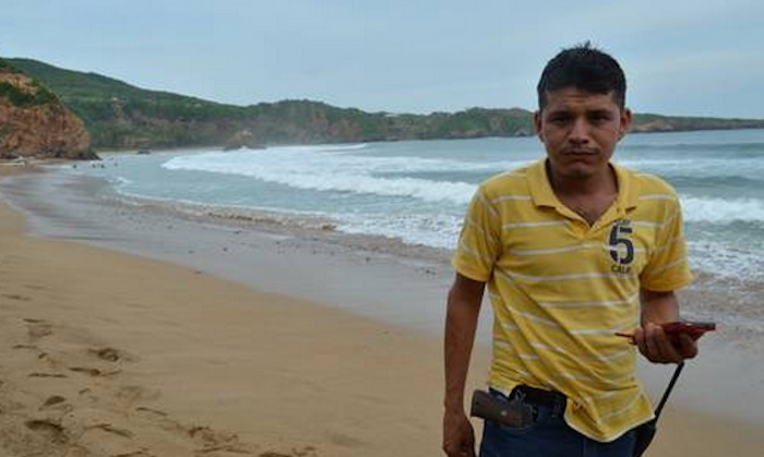 Semeí Verdía Zepeda, el principal líder del grupo de autodefensa de Aquila. Foto: Provincia