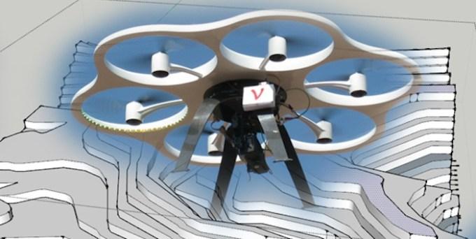 Topografía y construcción. Foto: Drone LabMéxico.