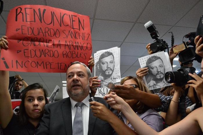Protesta el Congreso de Veracruz. Foto: BlogExpediente