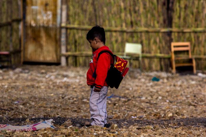 """Escuela primaria """"Benito Juárez Bilingüe"""", en Xitla, Oaxaca. Foto: Enrique Ordóñez, Cuartoscuro."""