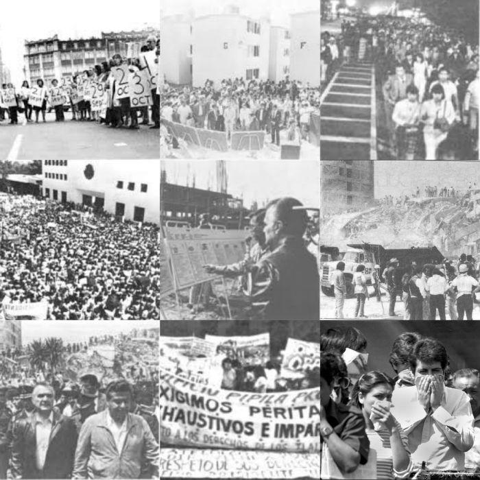 Días después del sismo se realizaron en las calles de la ciudad distintas manifestaciones en demanda de soluciones a los problemas de los miles de damnificados. Foto: Cuartoscuro