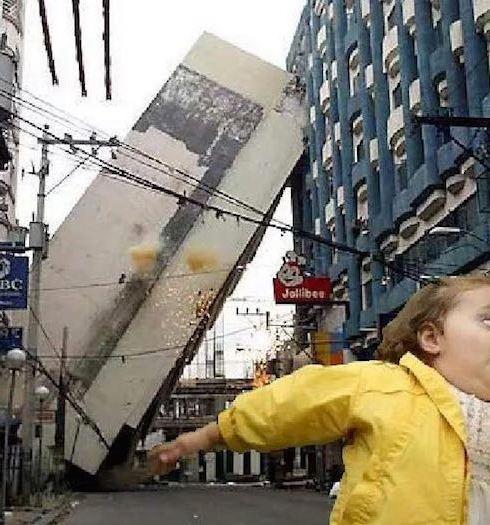 meme niña alerta sismo