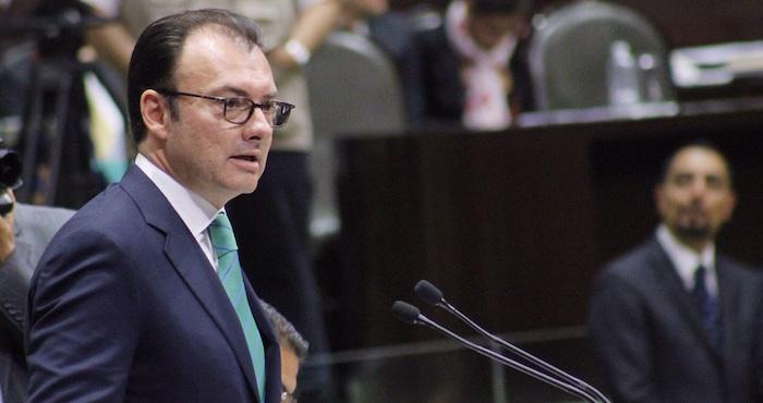 Comparecencia de Luis Videgaray en la Cámara de Diputados. Foto: Francisco Cañedo, SinEmbargo
