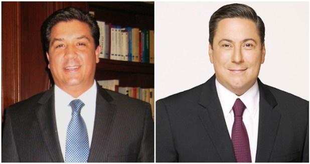 El Senador panista Francisco García Cabeza de Vaca y el Diputado federal priísta Baltazar Hinojosa Ochoa. Foto: Especial.