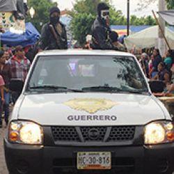 Varios municipios de Guerrero han creado grupos de autodefensas ante el embate del narcotráfico y su complicidad con las polici?as municipales