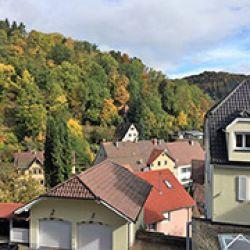 Oberndorf se halla en un valle de la Selva Negra alemana, uno de los lugares más ricos del planeta