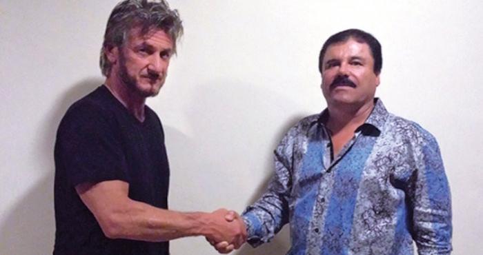 Chapo Guzmán y Sean Penn