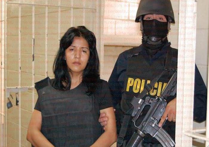 El 10 de julio del 2012, Armenta Graciano fue detenida por agentes del Grupo Águila 1 de la Unidad Modelo de Investigación de Investigación Policial. Foto: Noroeste