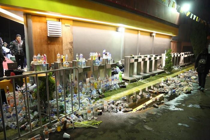 SinEmbargo realizó un recorrido por la zona de Ecatepec y constató que algunas bebidas que fueron confiscadas, los empleados del Edomex se las quedaron. Foto: Francisco Cañedo, SinEmbargo