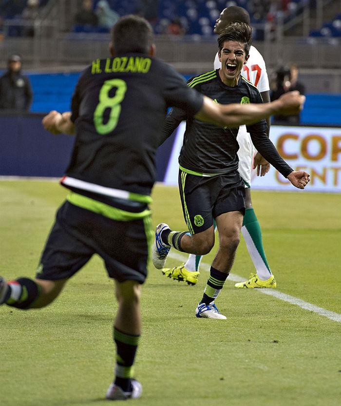 El segundo gol fue anotado por el jugador de Pachuca casi para terminar el encuentro. Foto: @miseleccionmx