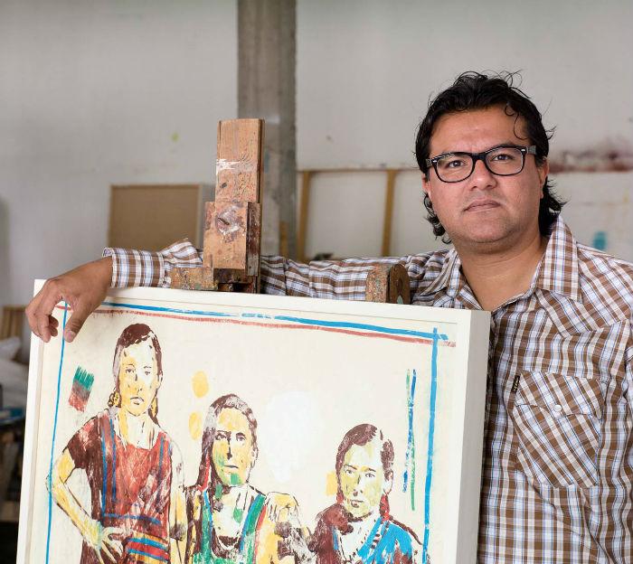 Como un homenaje a Juchitán y a sus mujeres, el artista oaxaqueño Demián Flores presenta la exposición Estucos, a partir del martes 2 de febrero en la Galería Planta Alta y Espacio Visual del Centro de Cultura Casa Lamm. Foto: Cortesía