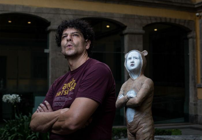 Esculturas contra la indiferencia. Foto: Francisco Cañedo, SinEmbargo