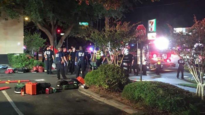 Al menos 20 personas han muerto y más de 40 personas resultaron heridas. Foto: Agencia EFE