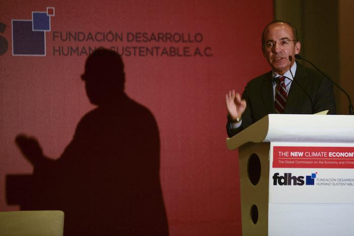 El ex presidente de la República Mexicana Felipe Calderón Hinojosa ha dicho que no había otra opción más que enfrentar al crimen. Foto: Isabel Mateos, Cuartoscuro