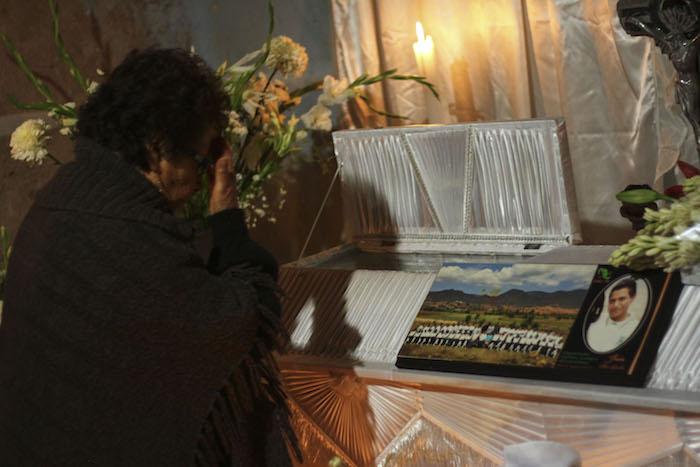 Funeral de Jesús Cadena Sánchez. Foto: Cuartoscuro