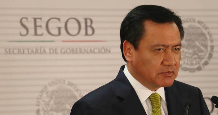 El Secretario de Gobernación, Miguel Ángel Osorio Chong. Foto: Cuartoscuro.