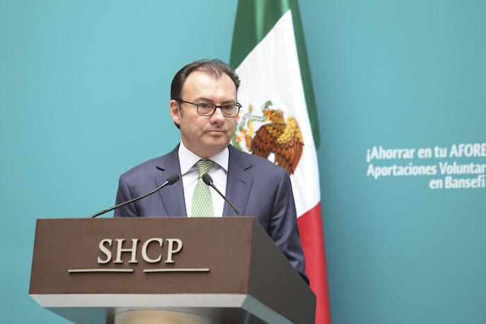 Luis Videgaray, Secretario de Hacienda y Crédito Público (SCHP) no ha velado por el cumplimiento de un compromiso para la reducción de la deuda en Chihuahua. Foto: Cuartoscuro