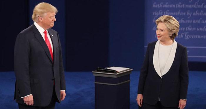 No se dieron la mano. Foto: AP