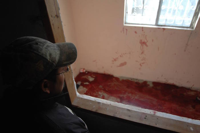 El 31 de enero de 2010, quince jóvenes fueron asesinados en la colonia Villas de Salvárcar, en Ciudad Juárez. La masacre fue condenada a nivel internacional. Foto: Cuartoscuro