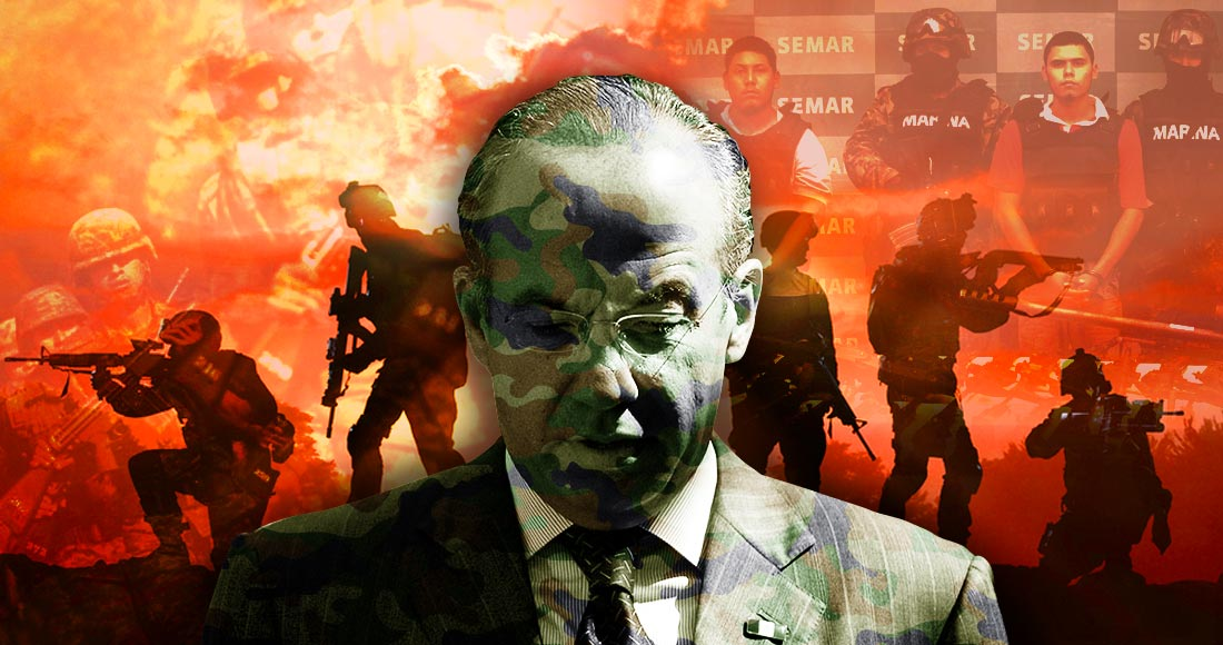 Felipe Calderón guerra contra el narco