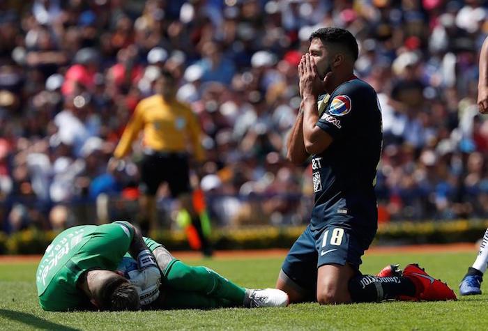 interior america copa - América vence 2-0 a Chivas y avanza a Semifinales de la Copa Mx