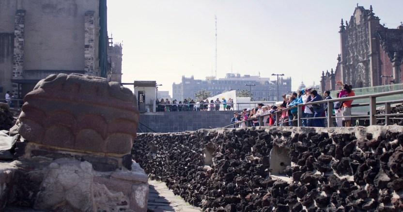 templo mayor 3 - Un bloqueo marítimo y el corte de suministro de agua, la estrategia de Cortés para sitiar Tenochtitlan