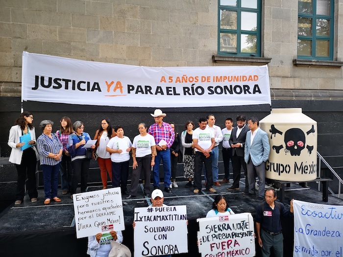 acto scjn - Grupo México deja sin hospital a Río Sonora