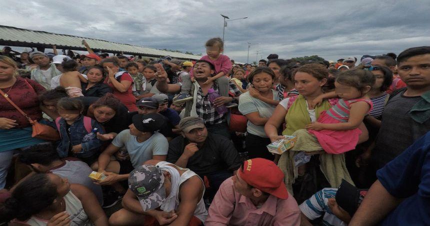 caravana migrante mexico 1 1 1 - Corte de EU rechaza petición de Trump para negar alimentos y servicios de higiene a niños migrantes