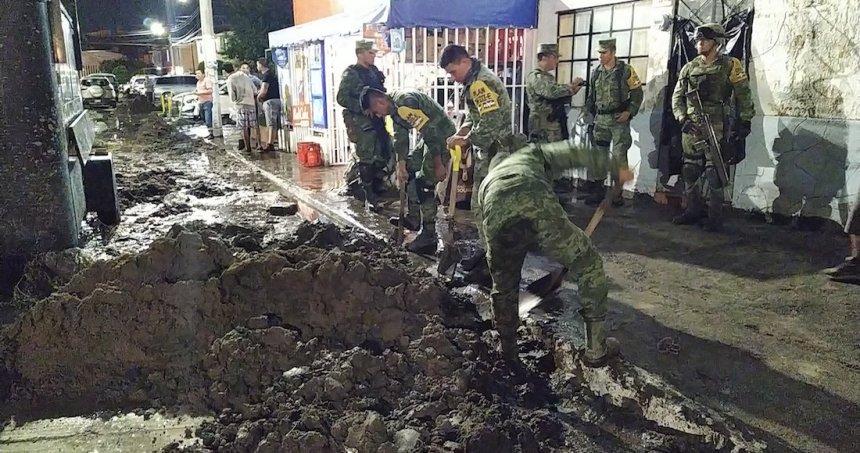 lluvias - Activan Alerta Amarilla por lluvias en distintos puntos de la Ciudad de México; reportan encharcamientos