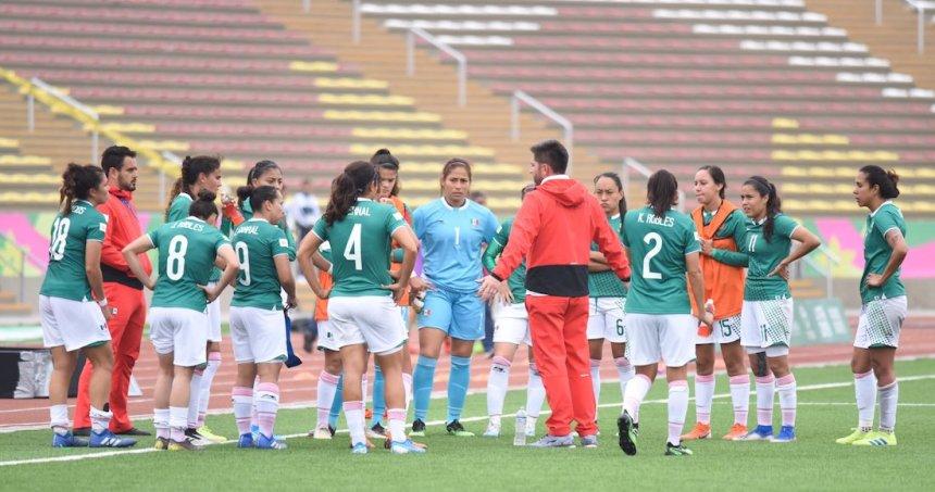 tri femenil - Con un autogol el Atlético de Madrid derrota 2-1 al San Luis durante partido amistoso