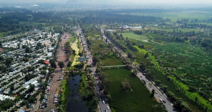 xochimlco puente vehicular - Sheinbaum niega que puente vehicular se construirá en un área protegida de Xochimilco y es criticada - #Noticias