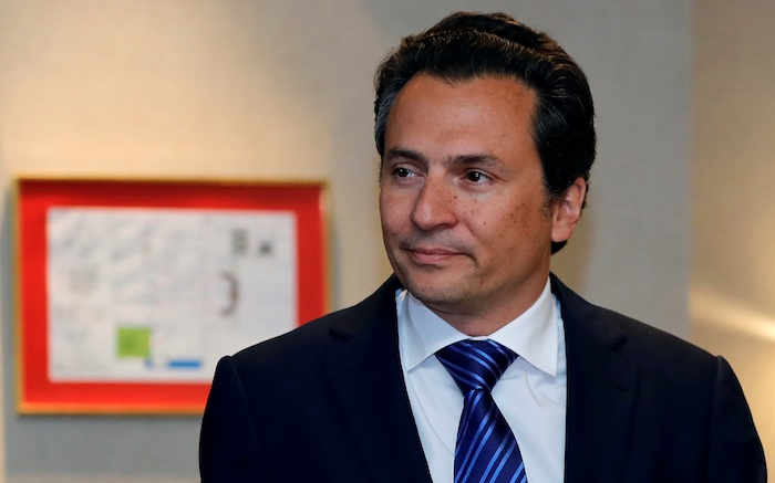 Fotografía de archivo fechada el 17 de septiembre de 2017 del ex director de Petróleos Mexicanos (Pemex) Emilio Lozoya en Ciudad de México (México). Foto: EFE / José Méndez / ARCHIVO