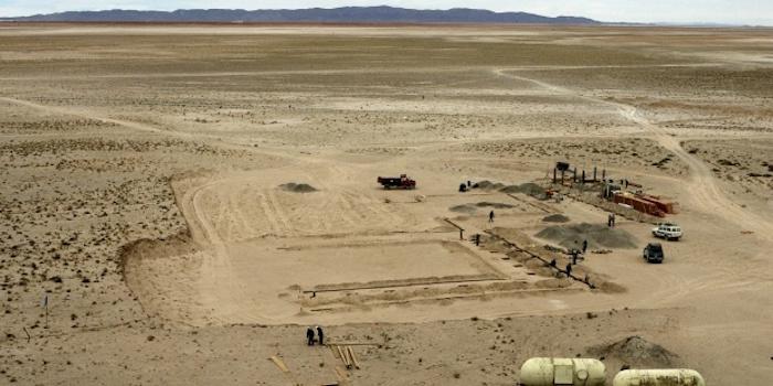 En la imagen, una mina de litio en el Salar de Uyuni (Bolivia). Foto: EFE.