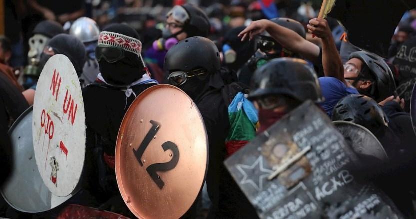 manifestaciones chile - Manifestantes en Chile despiden semana marcada por huelga feminista con nueva protesta en Plaza Italia - #Noticias