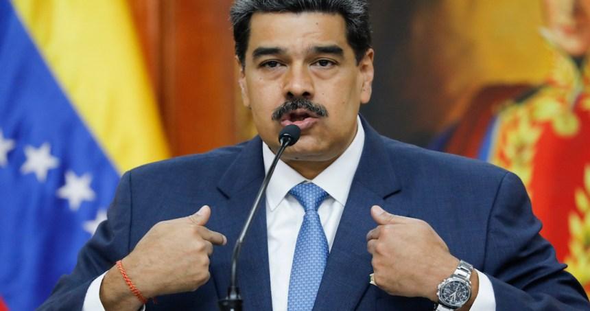 nnicolas maduro petroleo - AMLO apela al principio de no intervención ante los cargos presentados por EU contra Maduro