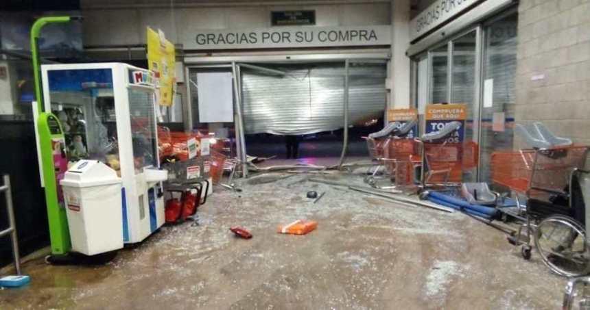 whatsapp image 2020 03 20 at 10 27 43 - Autoridades de Edomex localizan camioneta usada en el robo a un supermercado de Tecámac