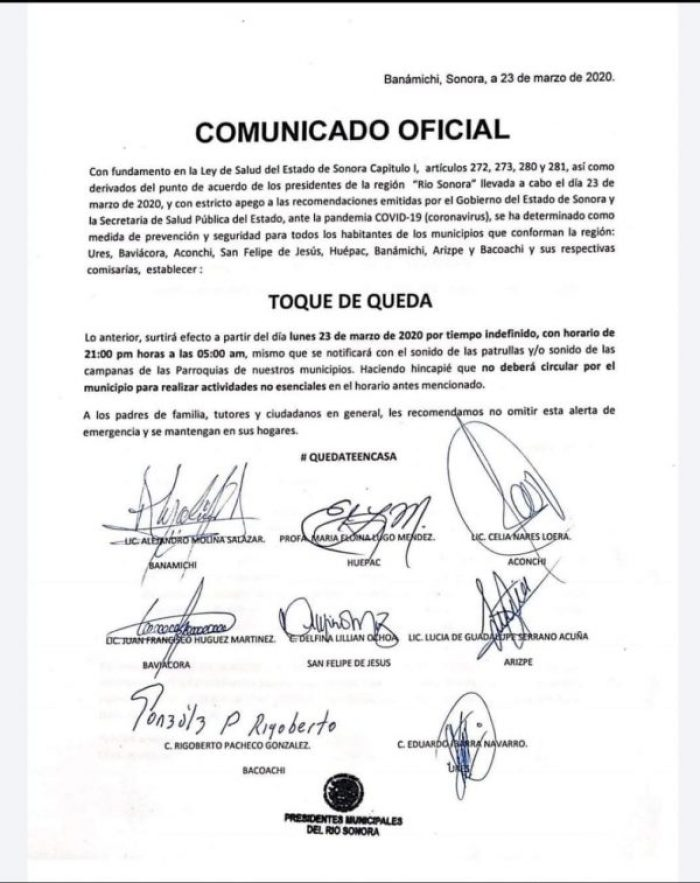 whatsapp image 2020 03 23 at 7 47 25 pm 600x757 - Campanas de la iglesia y sirenas sonarán: 8 pueblos de Sonora, con toque de queda por COVID-19