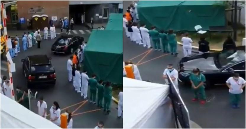 el personal medico protesto - Bélgica inicia sistema de rastreo de posibles contagios de COVID-19; ya identificó a más de tres mil