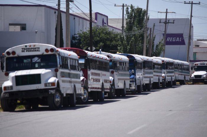 Inmediaciones de la maquiladora Regal en Ciudad Juárez.