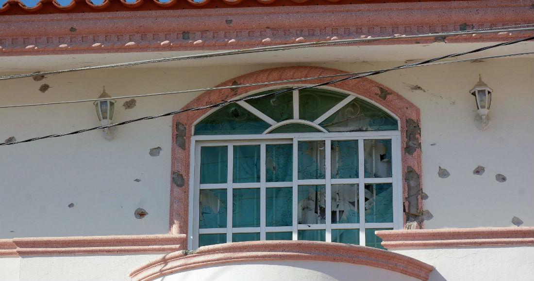 """Casa del """"Chino Ántrax"""", en Culiacán."""