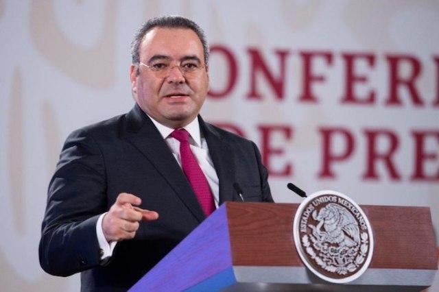 Carlos Romero Aranda, Procurador Fiscal de la Federación, en conferencia de prensa.