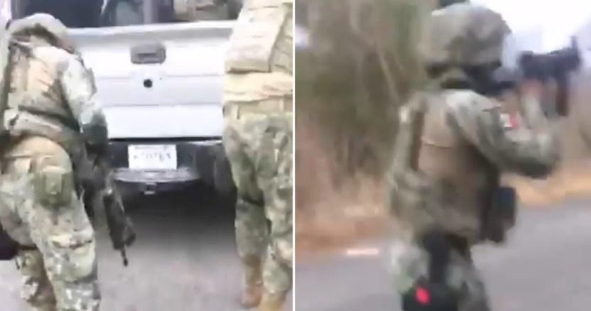 militares 1 - Enfrentamientos entre grupos armados de Culiacán, Sinaloa, dejan al menos 5 heridos