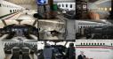 Imágenes del interior del avión presidencial.