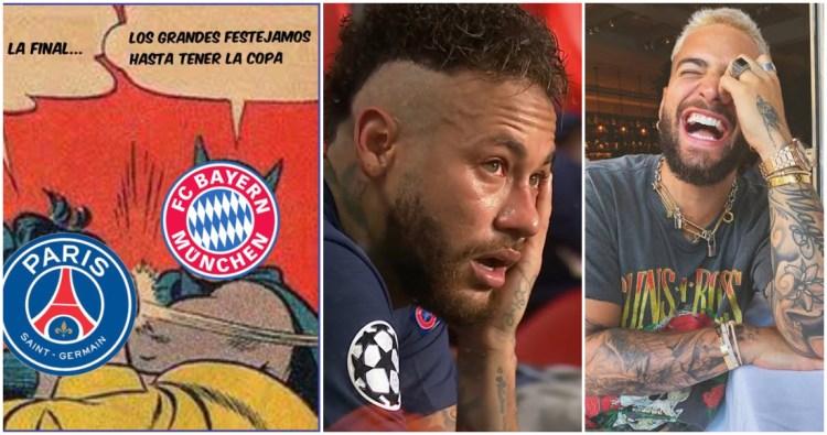 Los mejores MEMES de la derrota del PSG contra el Bayern ...