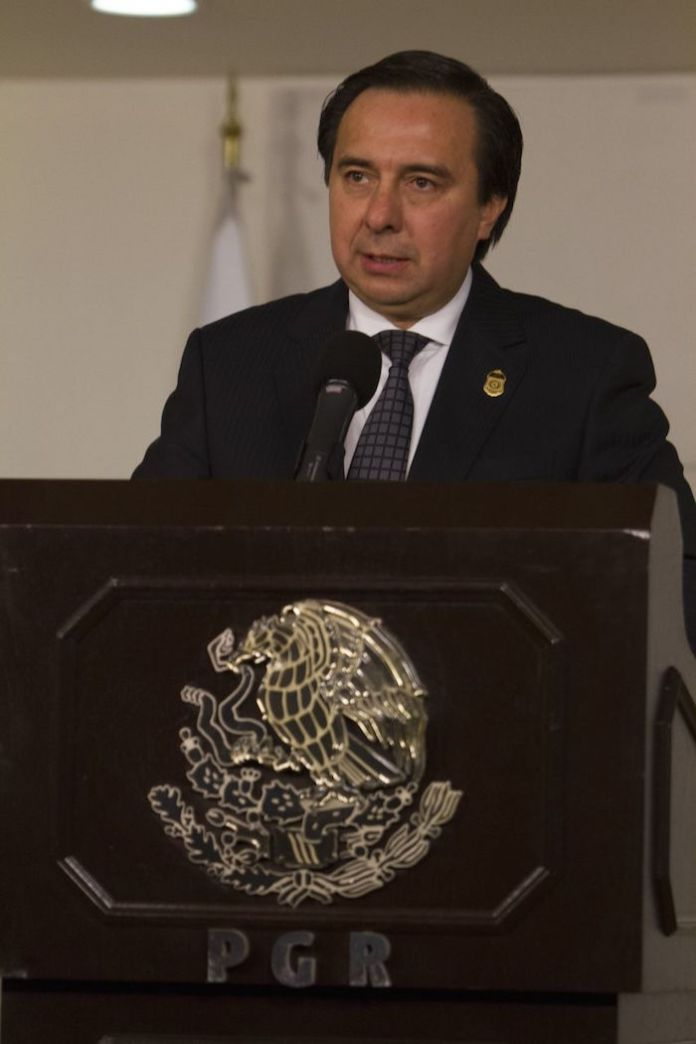Tomás Zerón de Lucio, extitular de la Agencia de Investigación Criminal de la extinta PGR.