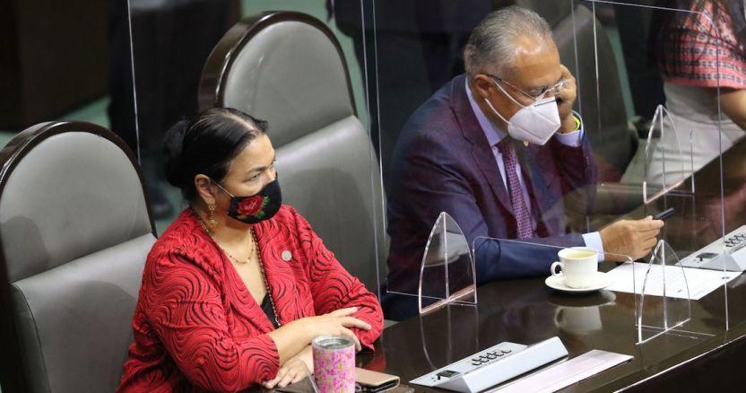 """cuartoscuro 774752 digital - Noroña acusa a Sánchez Cordero de operar contra él. AMLO: """"No es cómo avanzamos, sin escrúpulos"""""""