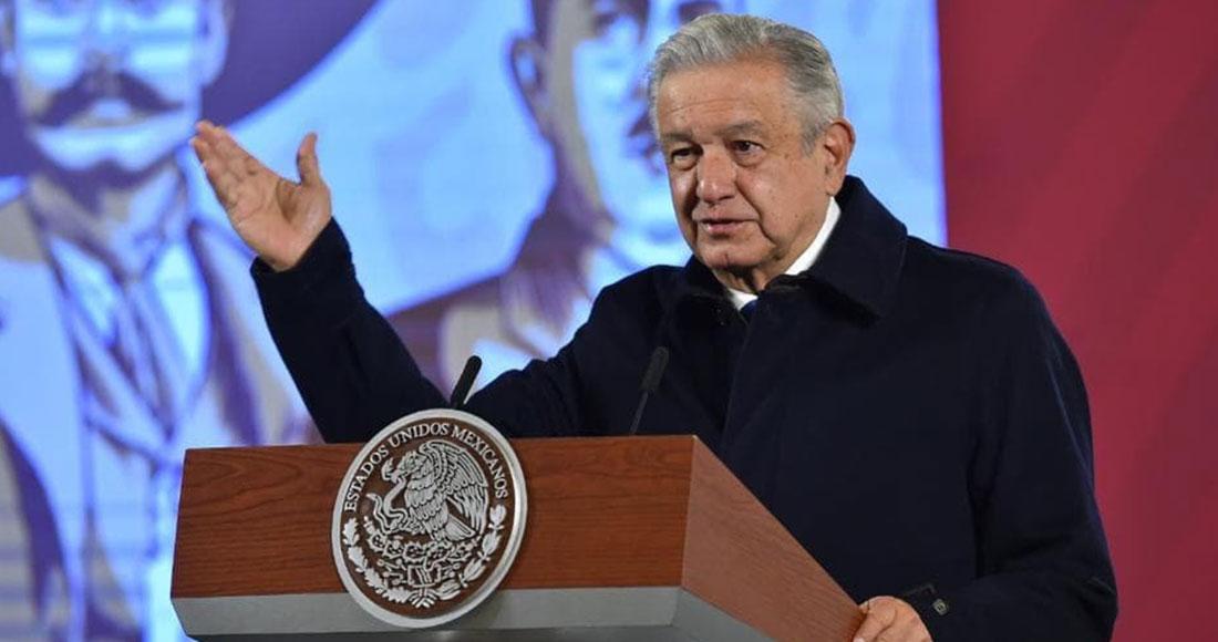 El Presidente Andrés Manuel López Obrador lamentó que España no quiera ofrecer una disculpa pública a pueblos indígenas de México por la Conquista. Foto: Gobierno de México
